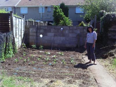 Maria's First Vegetable Garden