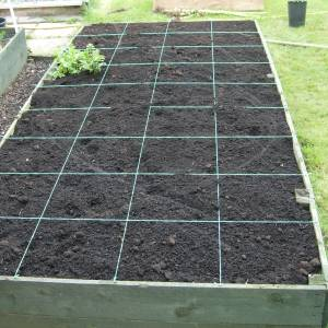 Raised Garden Bed compost