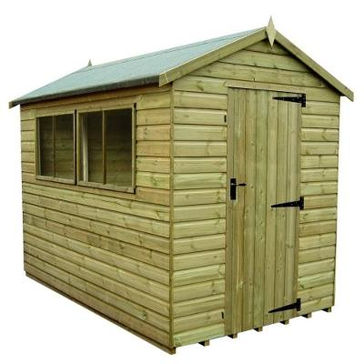 Pressure Treated Apex Shed From Tiger Sheds